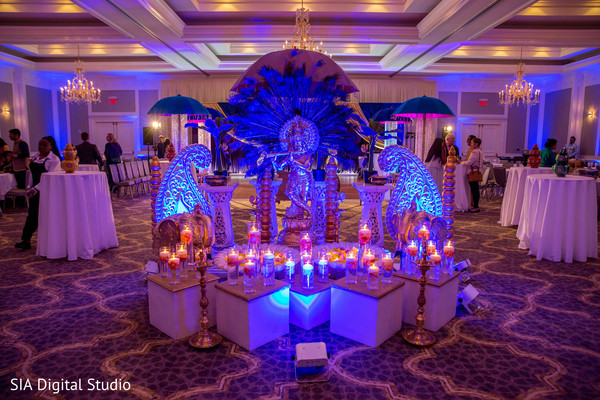 Over the top sangeet night decor