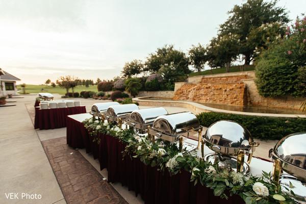 Perfect indian wedding buffet