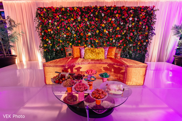 Beautiful sangeet stage