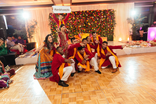 Wonderful sangeet dance performance