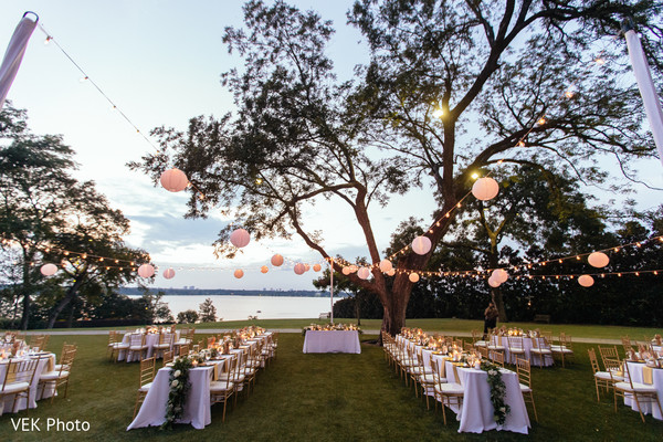 Breathtaking outdoor indian wedding