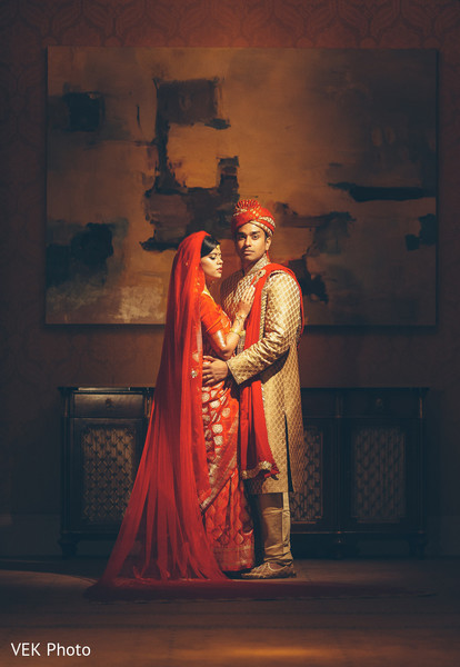 Timeless indian couple portrait