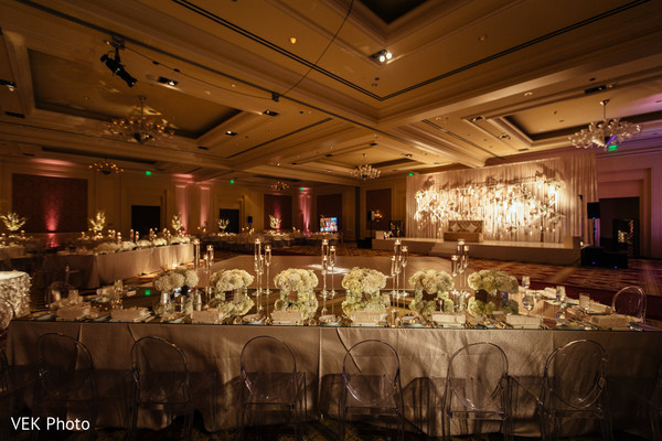 Fabulous indian wedding reception design