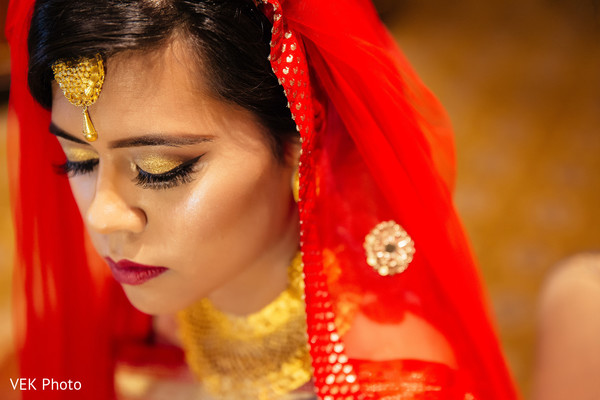 Perfect indian bride hair and makeup