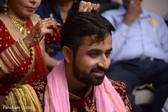 Lovely picture of groom on indian tradition