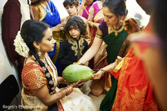 Indian bride pre wedding ceremony rituals