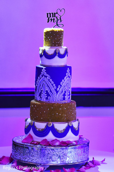 Marvelous indian wedding cake