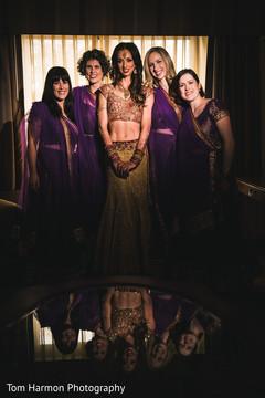 Indian bridal party capture