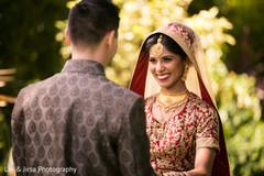 Glowing indian bride