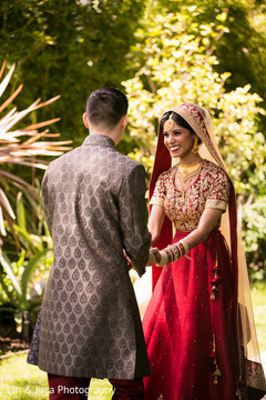 Outdoor Indian wedding photo shoot.