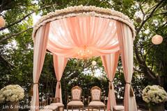 Wonderful indian wedding ceremony floral decor