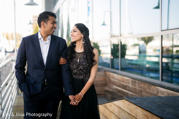 Adorable outdoor themed indian bride and groom photo session