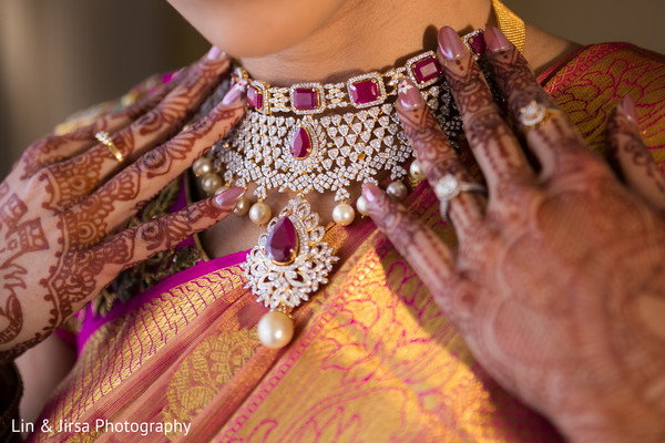 Fabulous indian bridal necklace