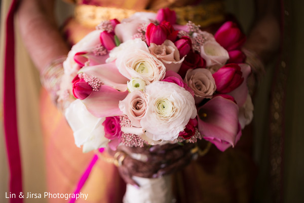 Beautiful indian bridal bouquet