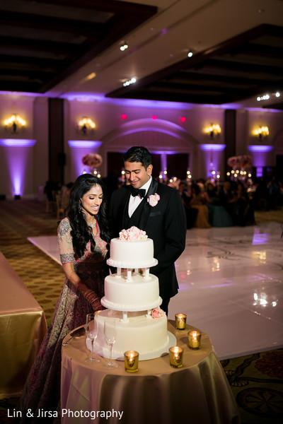 Cutting the cake scene