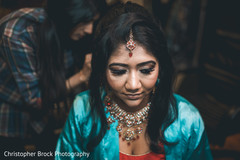 indian wedding gallery,indian bride getting ready,indian bride,indian bride hair and makeup