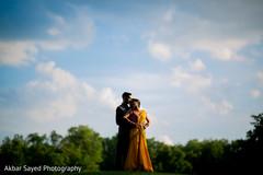Indian bride and groom capture