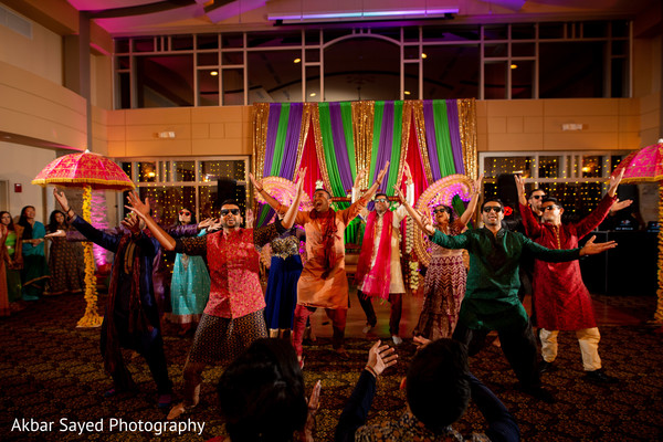 See this lovely sangeet performance