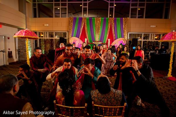 Sangeet night fun