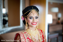 indian bride fashion,bridal lengha,bridal hair