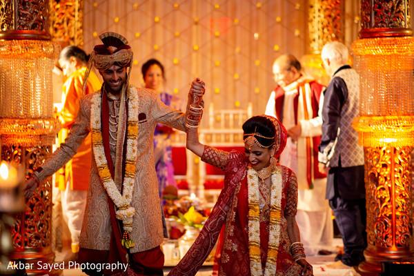 indian bride fashion,bridal dupatta