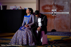 Fun indian wedding reception