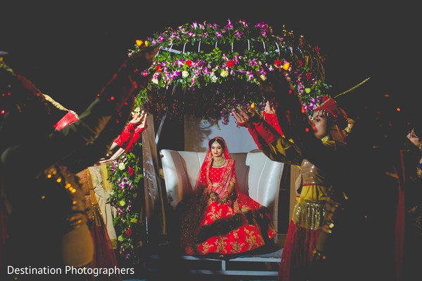 Marvelous indian bride's portrait
