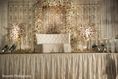 Charming indian wedding stage