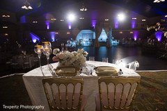 Indian sweethearts table with perfect lighting
