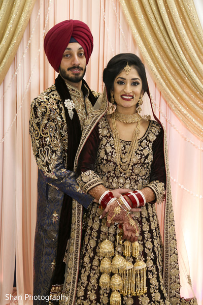 indian bride and groom portrait,indian wedding ceremony