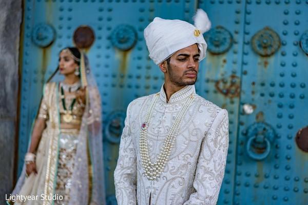 indian groom fashion,white sherwani