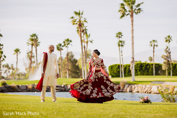 indian wedding gallery,outdoor photography,indian bride and groom