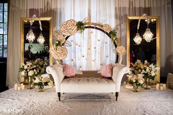 Enchanting indian engagement  decor