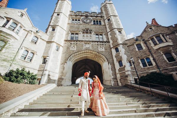Stunning indian wedding photo shoot location
