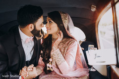 Indian couple ready for their reception