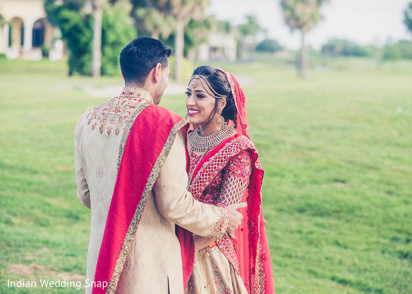 Indian couple's tender shot