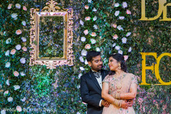 Indian bride and groom sweet shot