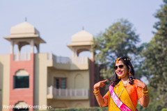 Indian bride's pre-wedding celebrations