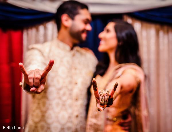 Engagement mehndi capture