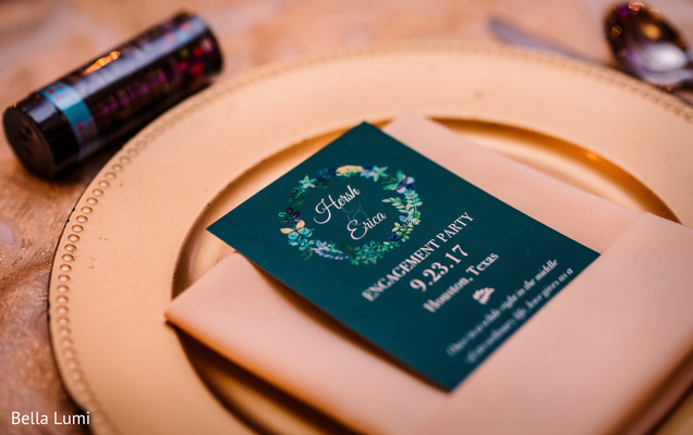 Indian engagement party invitations