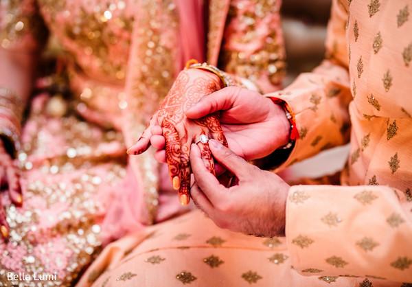 Stunning indian engagement ring