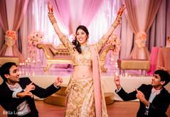 Indian bride dance choreography
