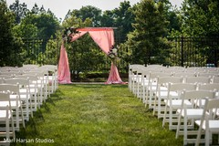 Fascinating wedding stage