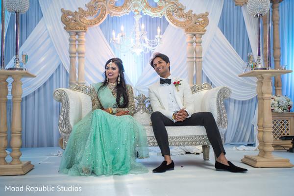 Maharani and Raja wedding reception.