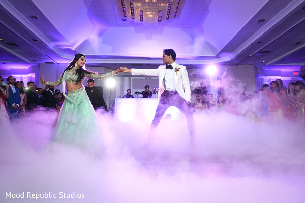 Magical fist dance scene