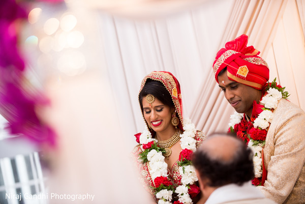 Enchanting Indian wedding ceremony.
