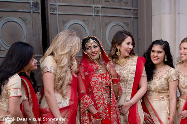 indian bridesmaids,indian wedding gallery,outdoor photography