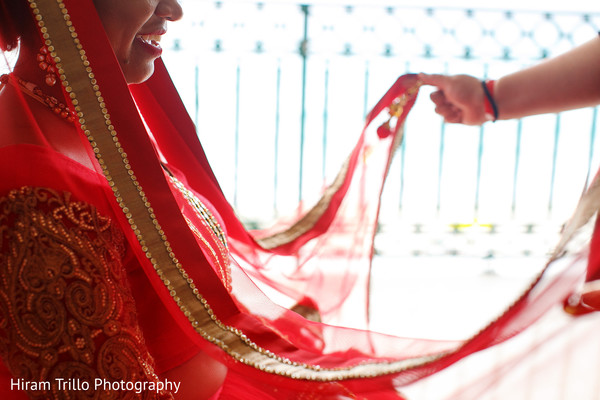 indian bride,indian wedding fashion,indian bride's ghoonghat