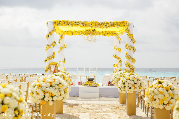 Marvelous Mandap flower decoration capture.