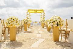 Great Indian ceremony aisle and mandap decoration.